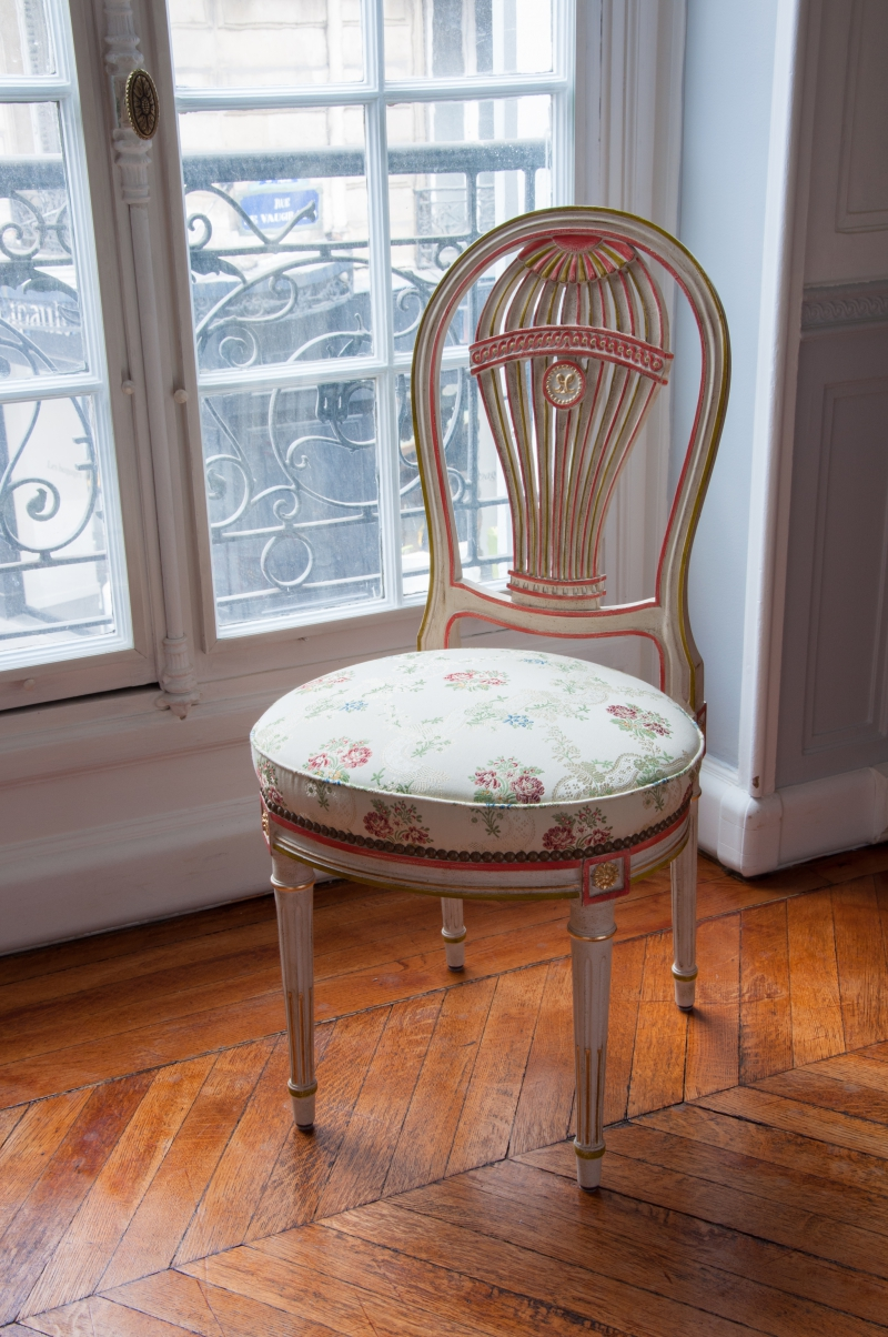 Focus on history - The Montgolfier brothers chair