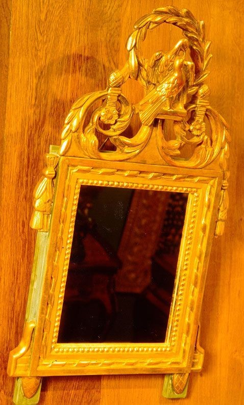 "Picture product Allot Miroir style Louis XVI "" Chantran "" 0507"