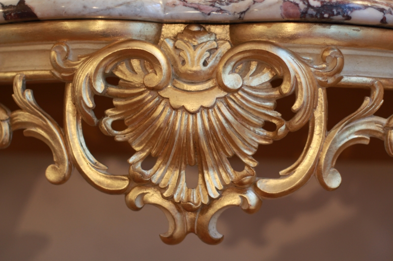 Console Hermitage Louis XV style