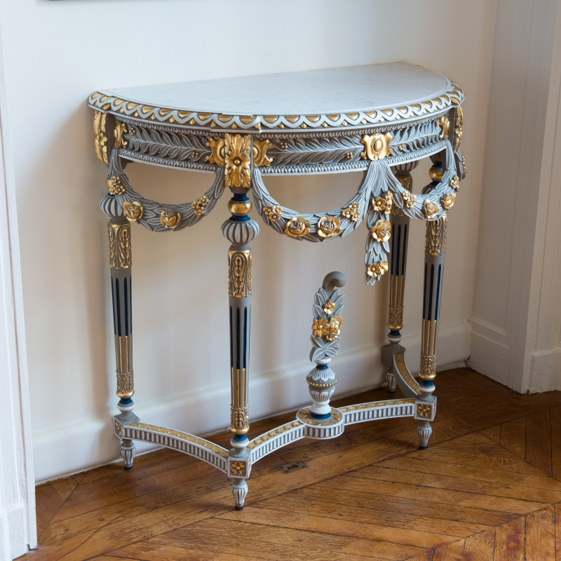 Console table Boffrand Louis XVI style