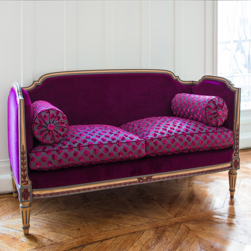 Sofa of Louis XVI style Vallois