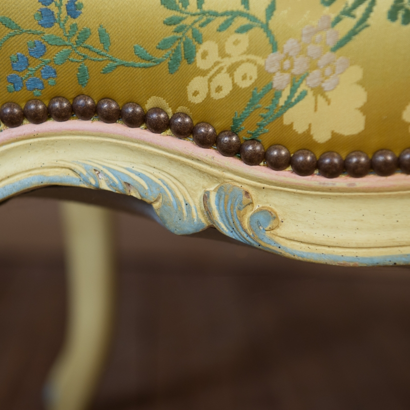 Armchair Rochefort Louis XV style