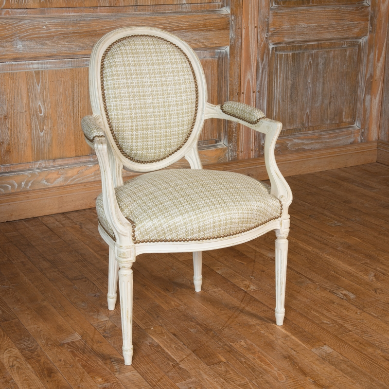Small Armchair Georges Jacob Transition style