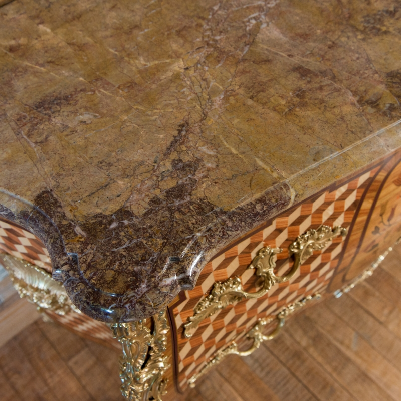 Chest of drawers Bircklé Louis XV style