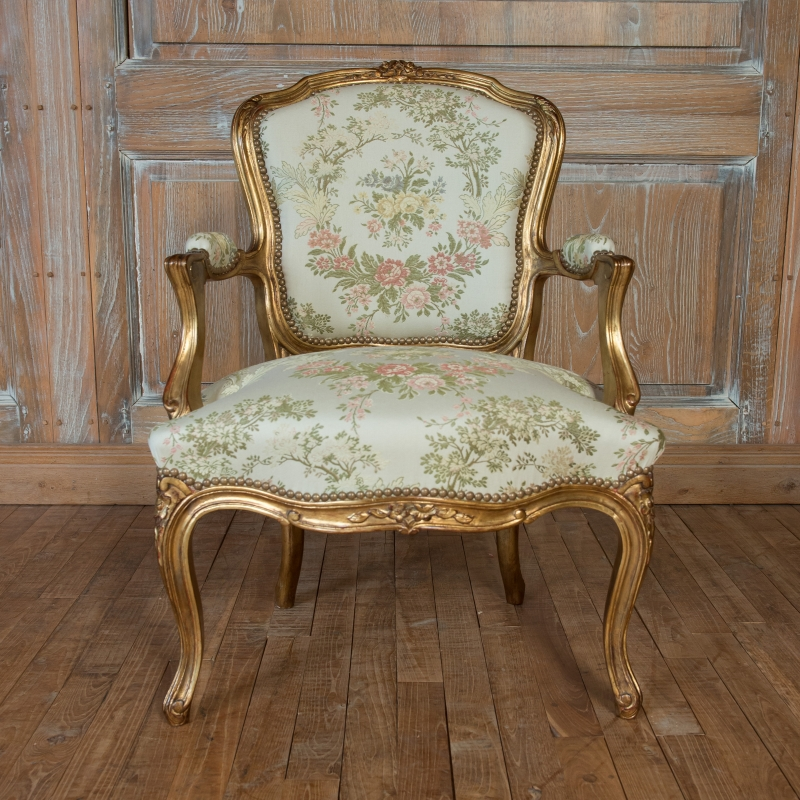 Small Armchair Grosset Louis XV style