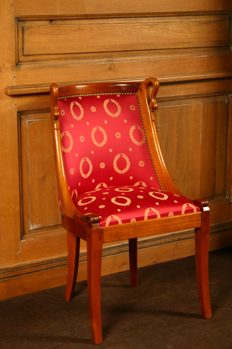 Chair Brifaudon Empire style
