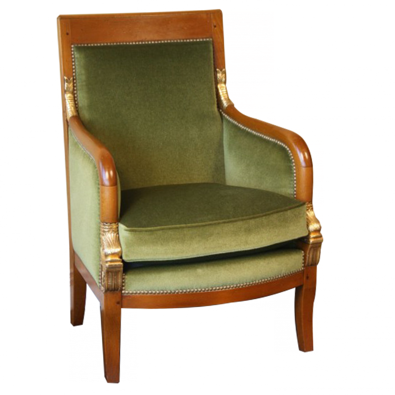 Easychair Guay Dauphin of Empire style