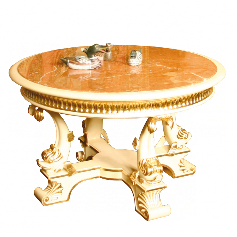 Lounge table Dauphin Empire style