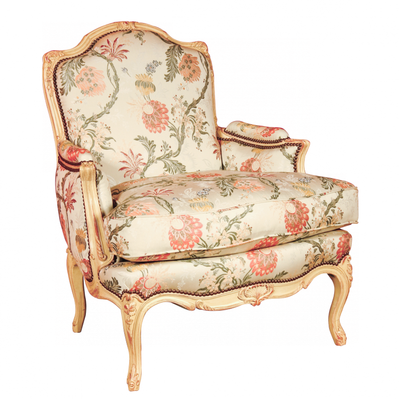 Easy chair Avisse of Louis XV style