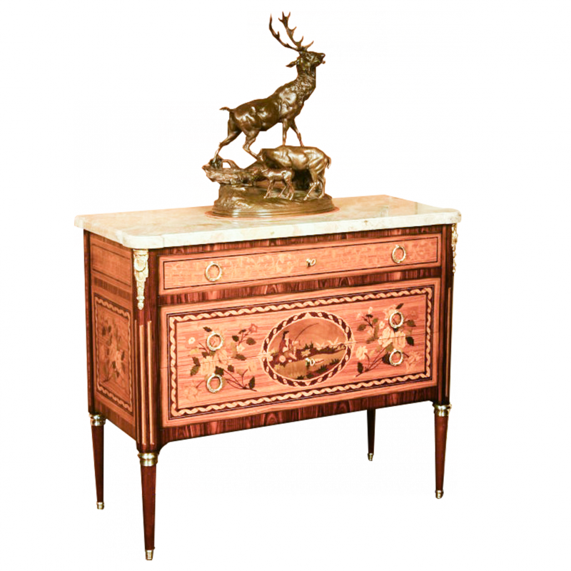 Chest of drawers Landrin Louis XVI style