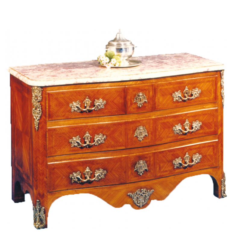 Chest of drawers Mondon Louis XIV style