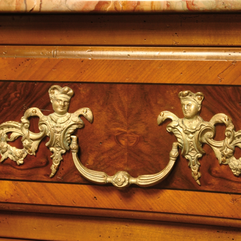 Chest of drawers Restif Louis XIV style