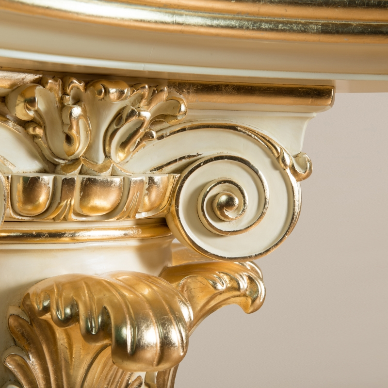 Dining table Colonne Denise Louis XV style