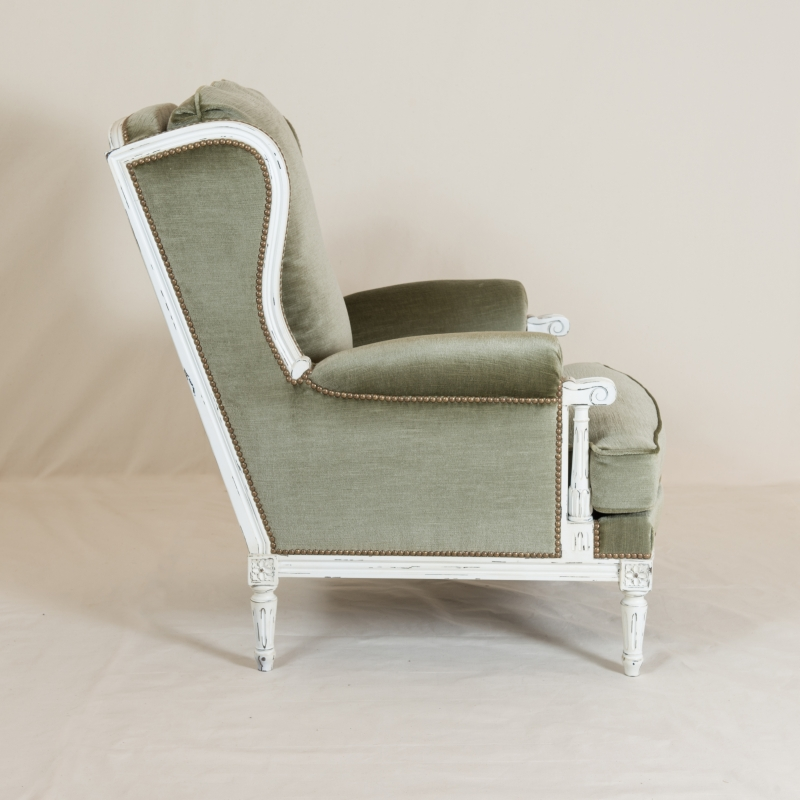 Easychair Ducoste Louis XVI style
