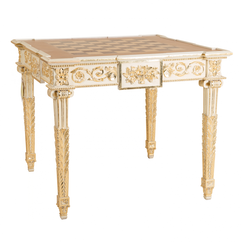 Game table Molitor of Louis XVI style
