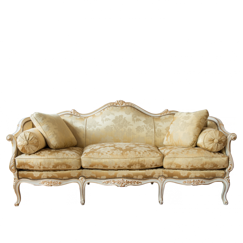 Sofa Tilliard of Louis XV Style