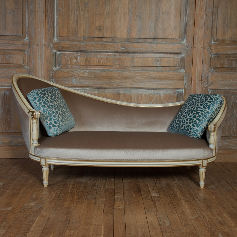 Day-bed Vinatier Louis XVI style
