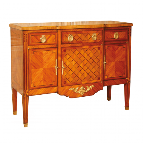 Chast of drawers - Sideboard style Louis XVI Charnet