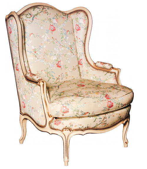 Easy chair Maucuy Louis XV style